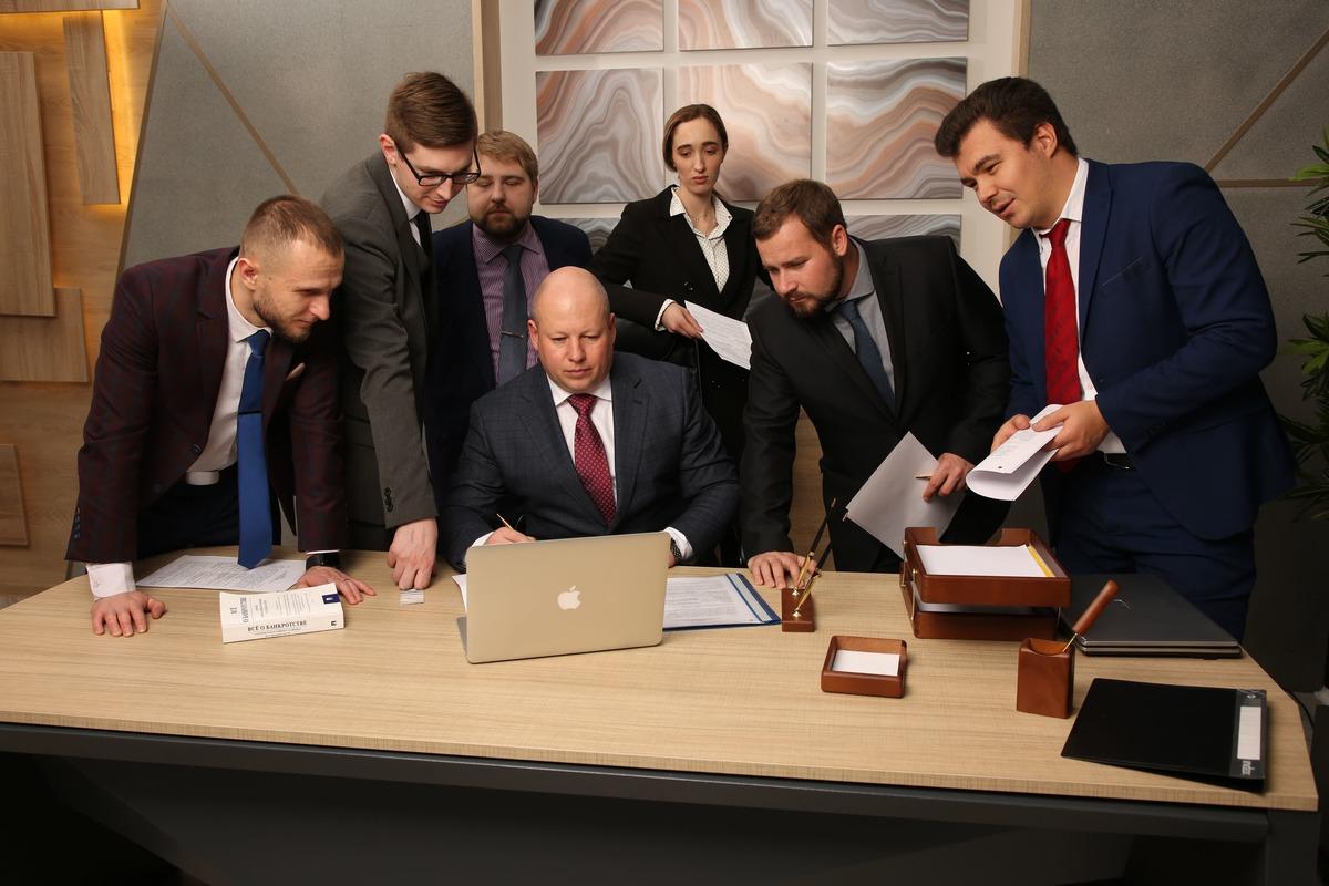 конкурсный управляющий для банкротства юридического лица